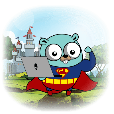 superman gopher